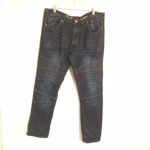 Raw X Standard Distressed Men's Jeans Size 38/32